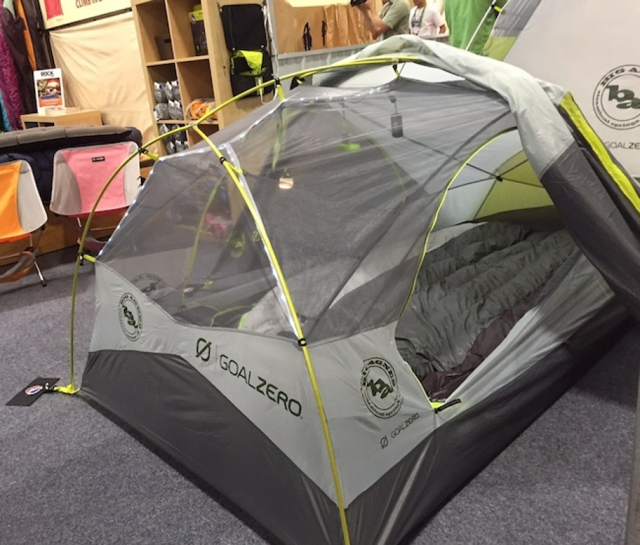 vBig Agnes and Goal Zero partner on new tent.