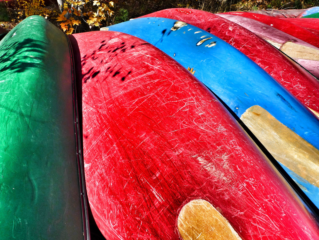 Used canoes for sale.