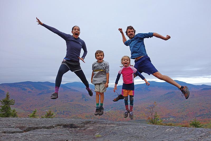 A family trip on the Appalachian Trail.