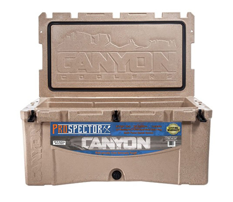 Canyon cooler prospector 103, a great choice for whitewater road trips
