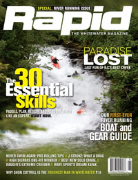 Cover shot of the Spring 2009 issue of Rapid magazine.