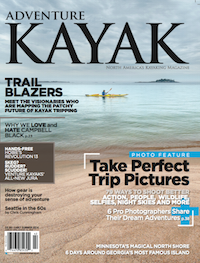 This article on kayak repair was published in the Spring 2014 issue of Adventure Kayak magazine.