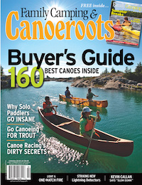 This article on tripping solo was published in the Early Summer 2007 issue of Canoeroots magazine.