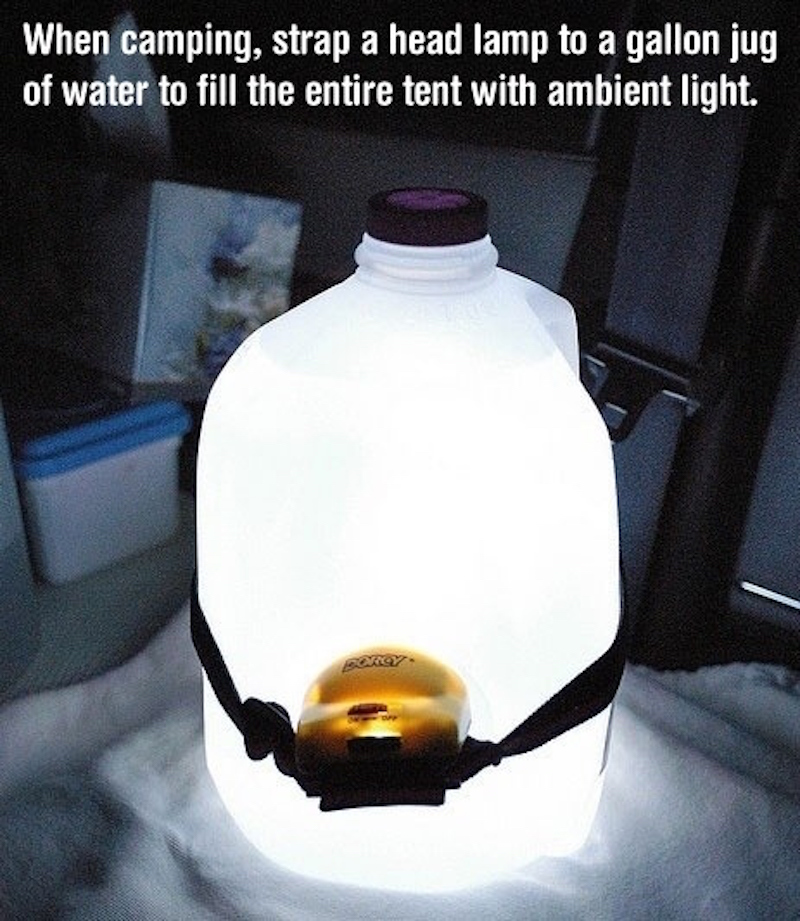 headlamp water bottle
