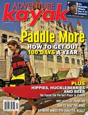 Cover of Adventure Kayak Magazine