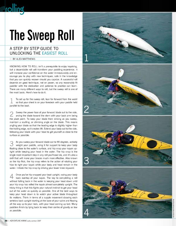 sweep roll