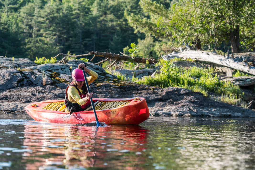 Solo Canoe Review: Esquif Canoes' Extasy Creek Boat | Paddling Magazine