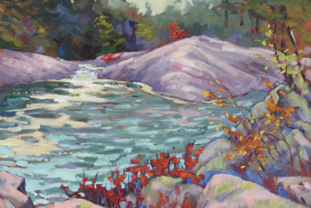 painting of area in Renfrew County