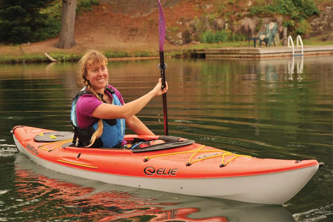 Boat Review: Elie's Sound 120 XE Kayak | Paddling Magazine
