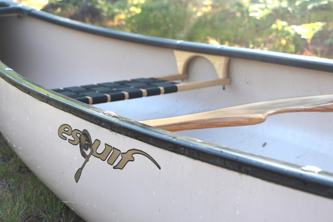 side view of Esquif Canoe's Huron canoe