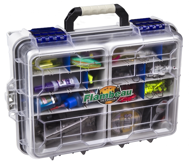 The new Zerust tackle storage option from Flambeau Outdoors makes your favorite lures last season after season. Photos: Courtesy Flambeau Outdoors