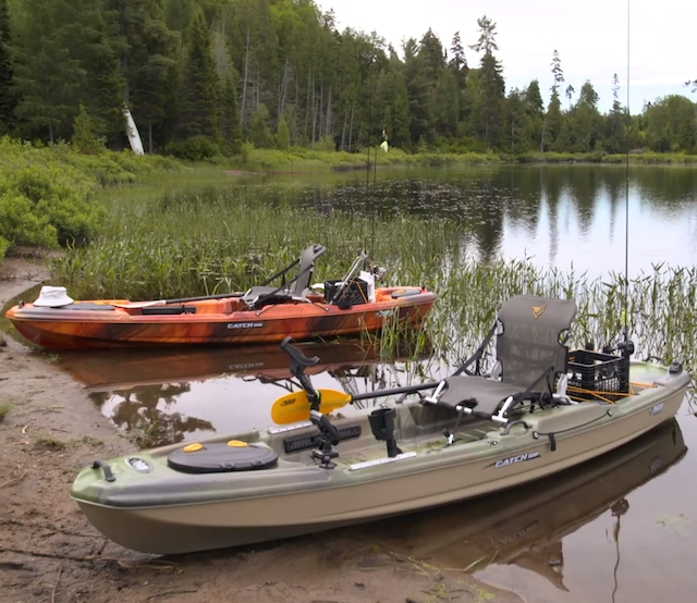 You'll be able to get this boat to the water without throwing your back out. Photo: Screen Grab