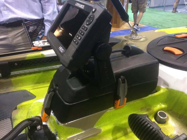 FeelFree's new Sonar Pod will be available on Lure models. Photo: Ric Burnley