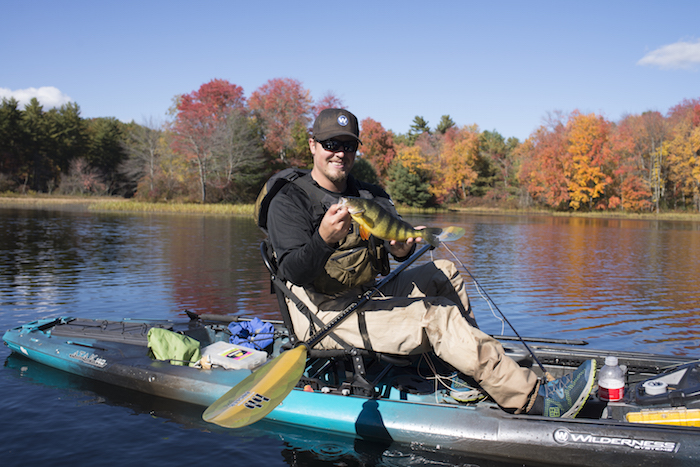 Kayak fishing is fun, don't worry yourself with the details, just get out there.