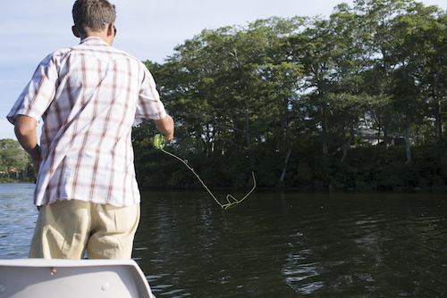 The Flycraft USA Stealth offers a super stable casting platform for all day fishing