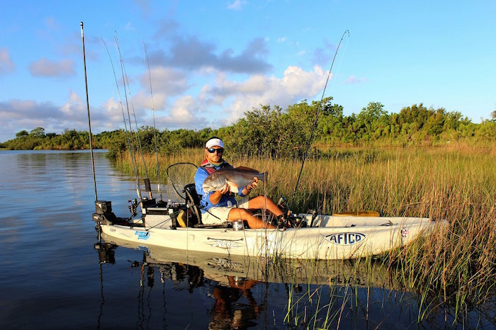 A redfish has been at the top of the Hobie Worlds trophy from the very beginning, it's time to go back to the marsh.
