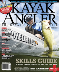 Wild Blue Yonder was originally published in the summer/fall 2013 issue of Kayak Angler