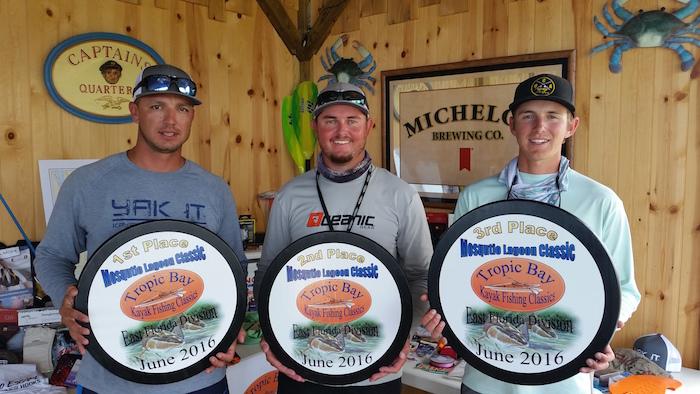 Meet the winners of the Kayak Fishing ClassicS Mosquito Lagoon Classic.