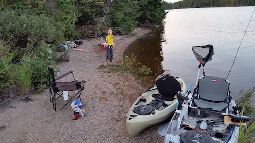 Your kids will think of kayak camping as a grand adventure.