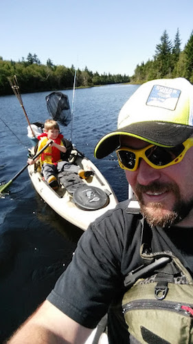 Joe Tilley planned a kayak camping weekend to make memories with his kids.