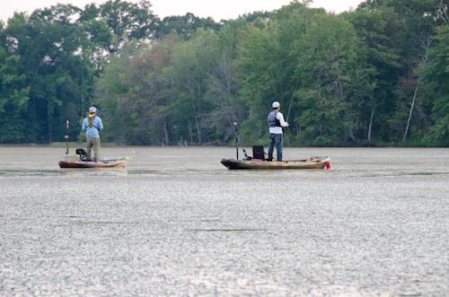 Lake Wheeler is likely Alabama's most popular kayak fishing lake
