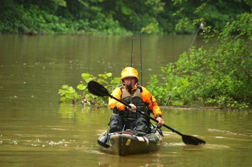 Stay safe in muddy water conditions by using these tips and paying attention.