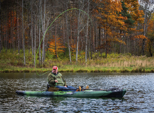 No matter your skill level, Upstate New York in the Fall has magical fishing.