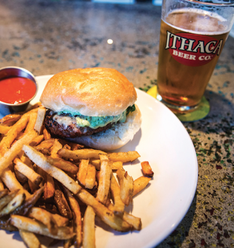 New York's Ithaca Brewery has great food and great beer for the hungry angler.