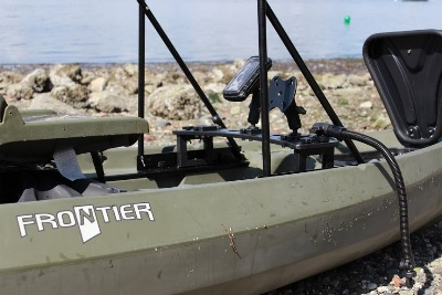 Nucanoe Frontier accepts many mounts and accessories