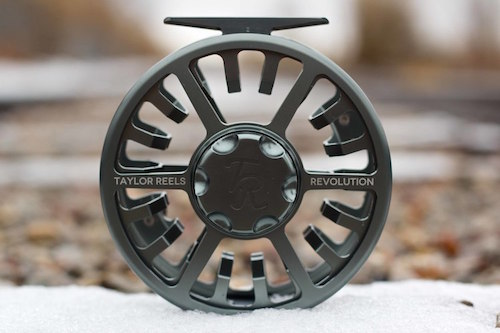Taylor Reels designed the Revolution from the drag up to perfect its function first.