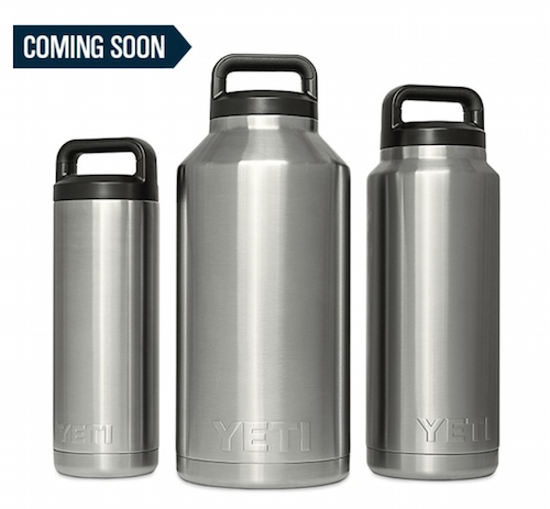 The Yeti Rambler Bottle combines the Rambler's function in a sealable bottle.