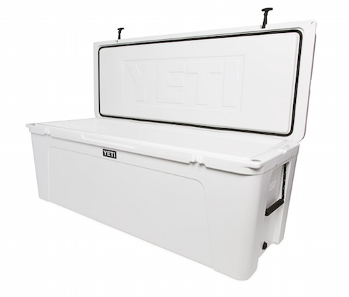 Yeti Tundra 350 is large enough to fill with enough drinks for the entire marina.