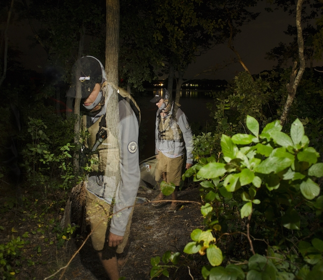 Stay alive in the dark and make it back to the launch with these night fishing tips. Photos: Ben Duchesney