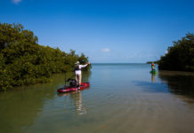 Kayak Fishing In Belize