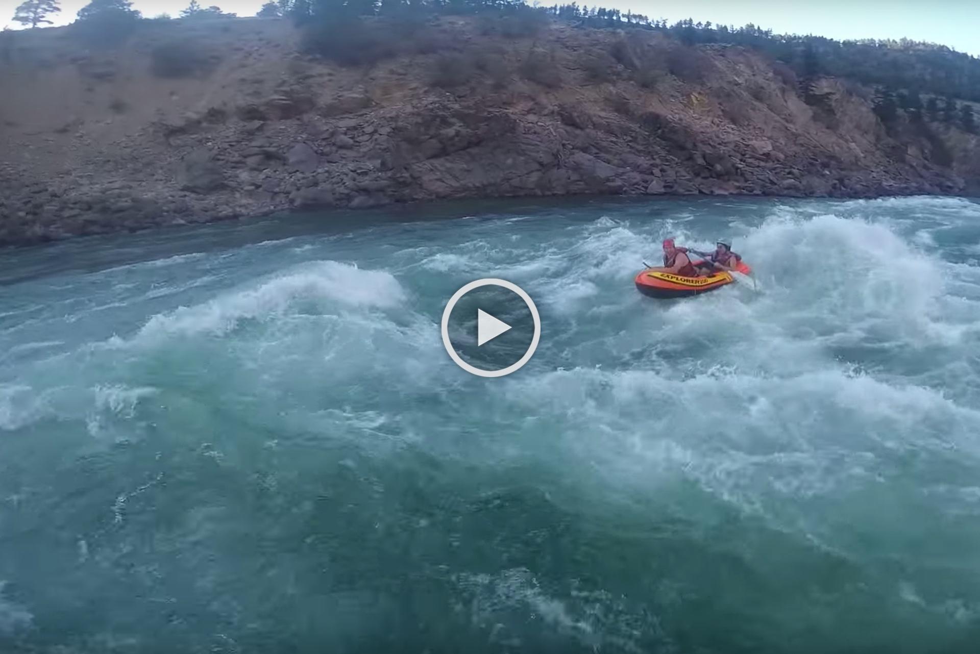 Best Raft Fails: Intex Explorer 200 vs  Rapids | Paddling