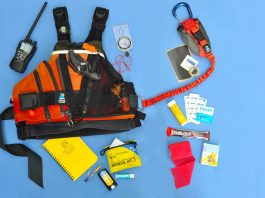 Complete your paddling pfd