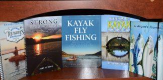5 books about kayak fishing