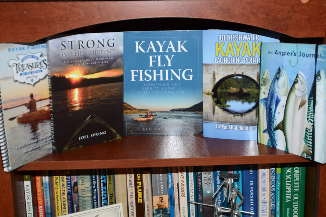 5 books about kayak fishing