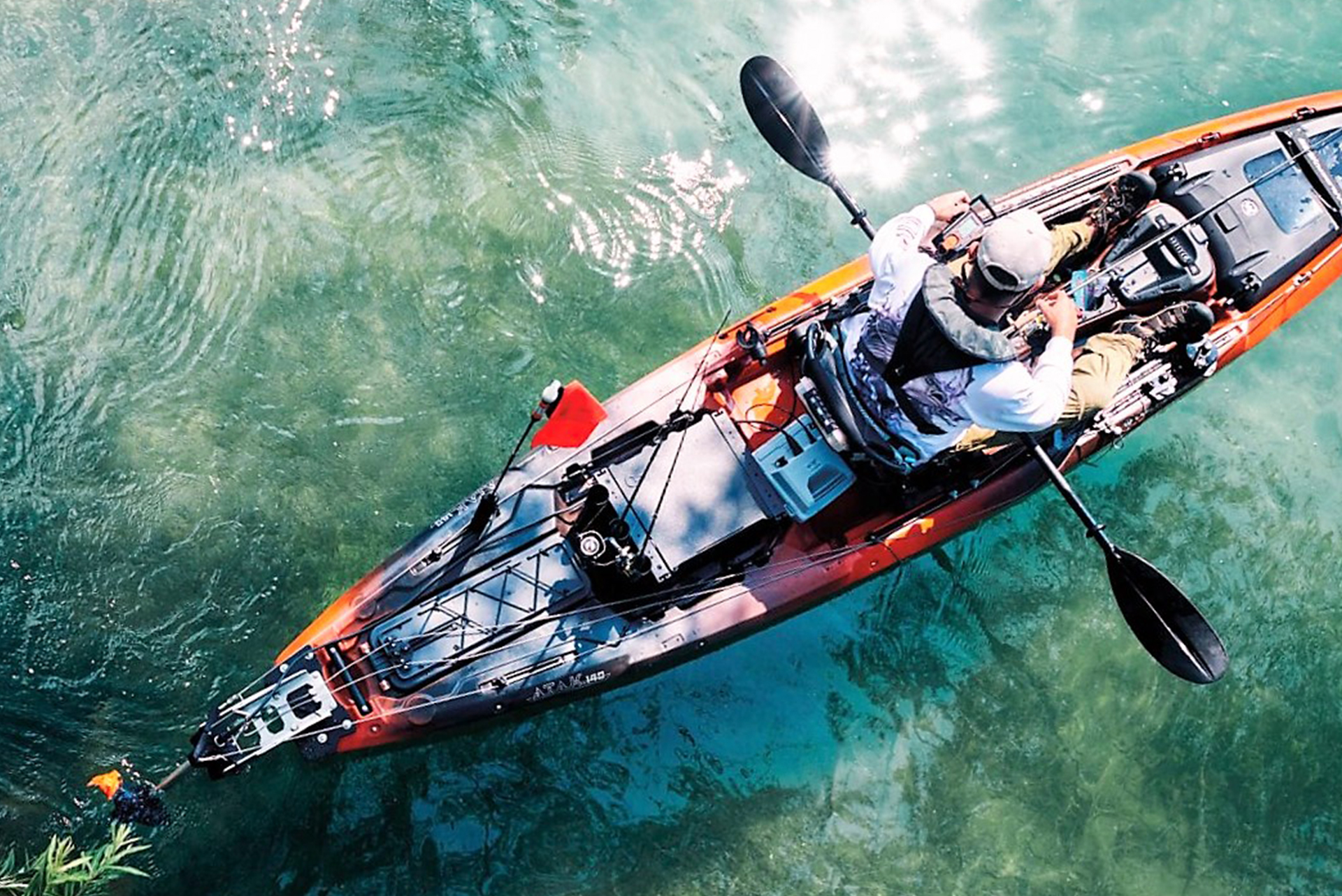 How To Choose Your Next Fishing Kayak Based On Propulsion