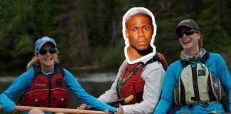 Kevin Hart on whitewater rafting