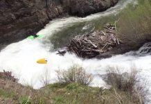 Exploding Kayak