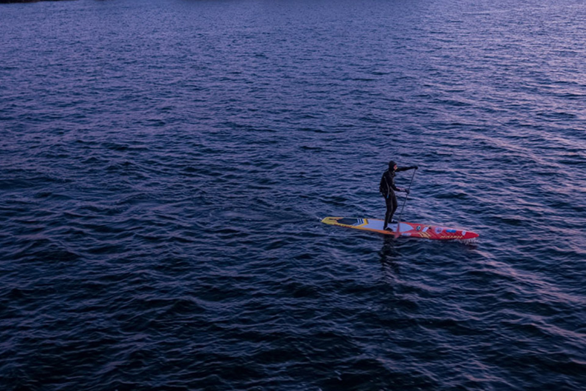 Casper Steinfath Paddleboards Skagerrak Ocean