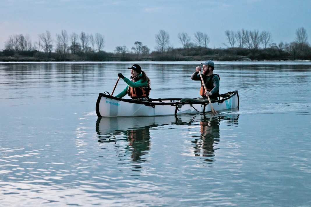 Folding Canoe Review: MyCanoe's Recreational Plus | Paddling