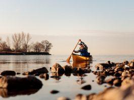 Wenonah's Wee Lassie solo canoe reviewed by Kaydi Pyette