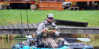 Kayak Fishing For Suicide Prevention