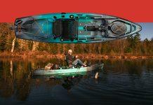 Win an Old Town kayak: Topwater 120 PDL.