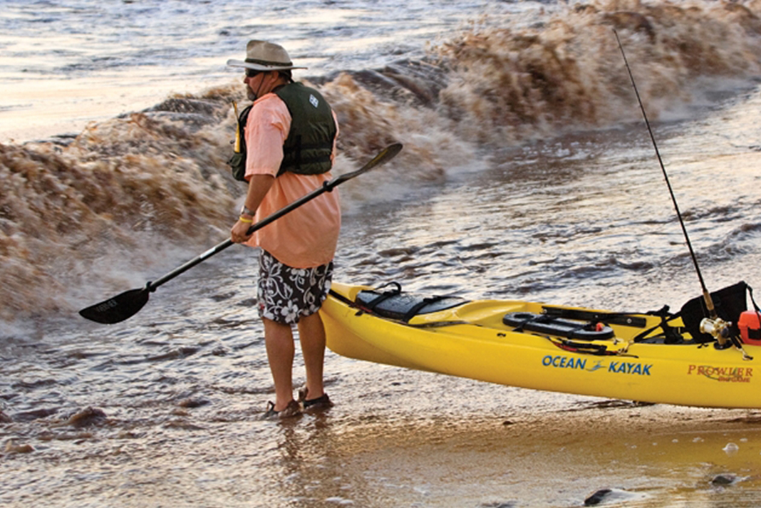 How to Launch and Land Your Fishing Kayak in Surf   Kayak Angler