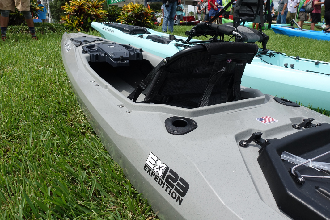 Bonafide Kayaks' EX123 Expedition Fishing Kayak
