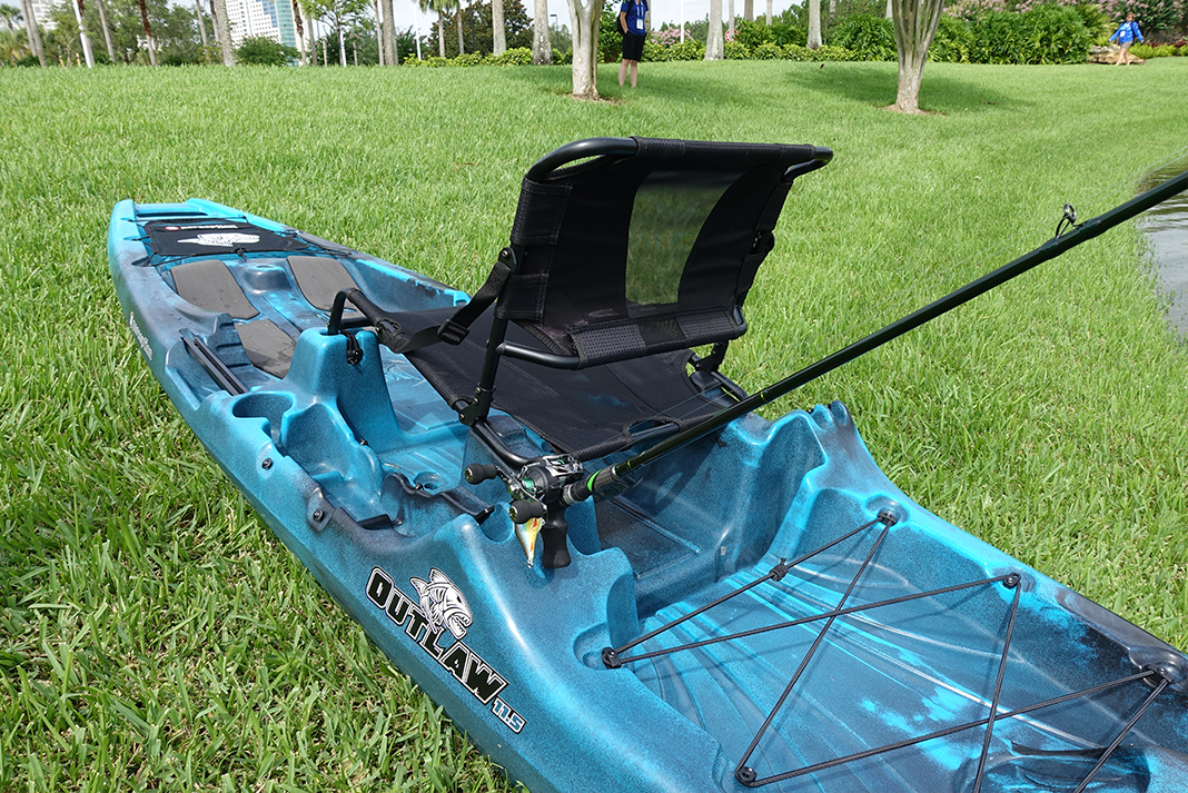 Perception Kayaks' Outlaw 11 5 Fishing Kayak | Kayak Angler
