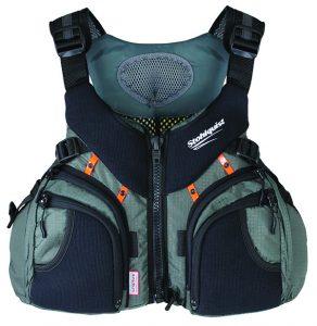Keeper kayak fishing life jacket from Stohlquist WaterWare